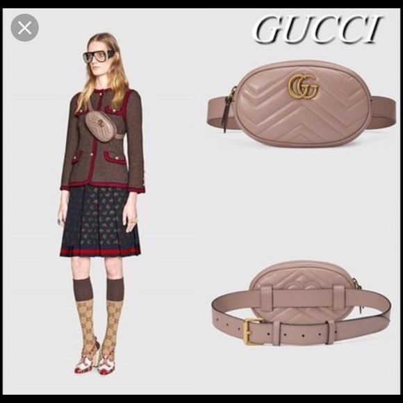 0c899ff37f2 Gucci Handbags - Gucci Marmont Belt Bag Size 95